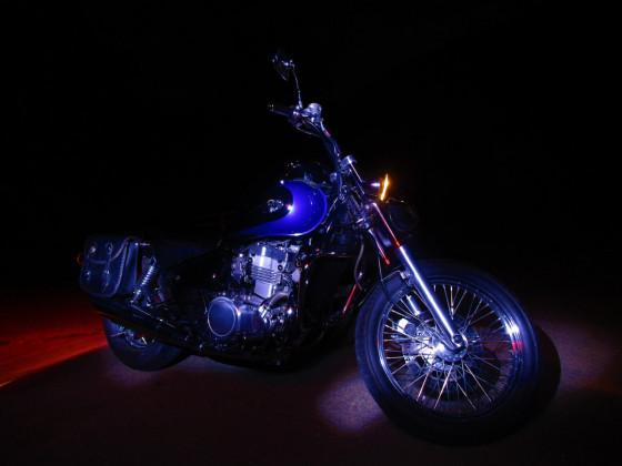 Bike bei Nacht